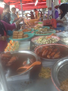 Some Malaysian treats at the Bazaar